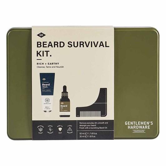 Gentleman's Hardware Beard Survival Kit
