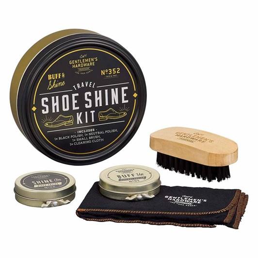 Gentleman's Hardware Travel Shoe Shine Tin