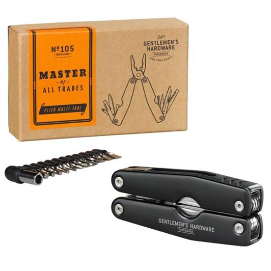 Gentleman's Hardware Plier Multi-Tool Black