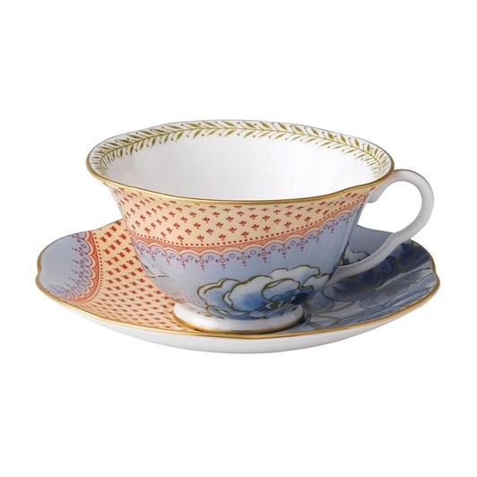 Wedgwood Butterfly Bloom Teaware Blue Teacup & Saucer