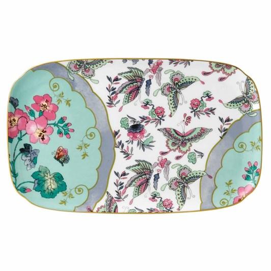 Wedgwood Butterfly Bloom Teaware Sandwich Tray 25cm