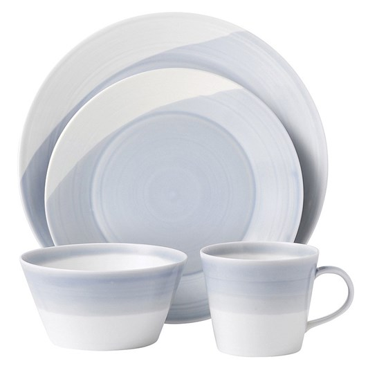 Royal Doulton 1815 Tableware Blue 16 Pce Set