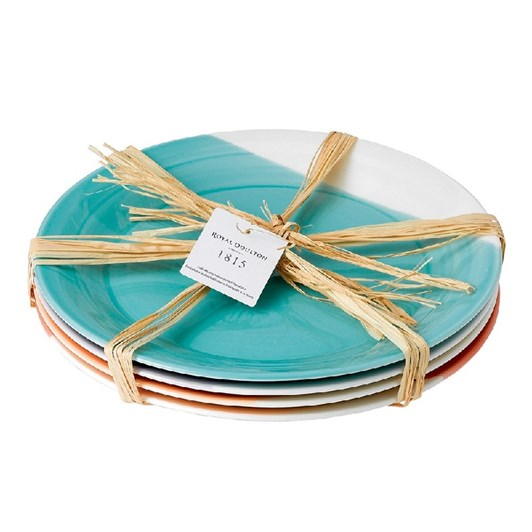 Royal Doulton 1815 Dinner Plates set of 4 Brights 28.5cm