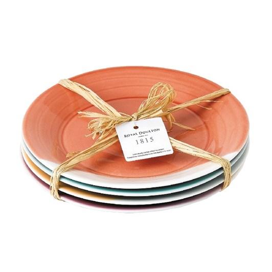 Royal Doulton 1815 Side Dinner Plates Set of 4 Brights 23cm