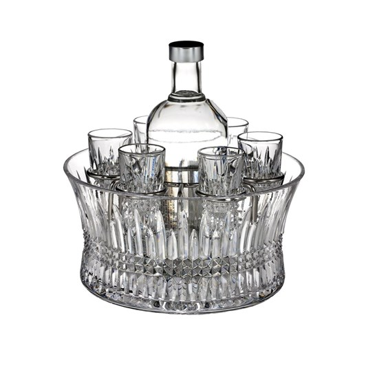 Waterford Lismore Diamond Vodka Set of 6 Shot Glasses