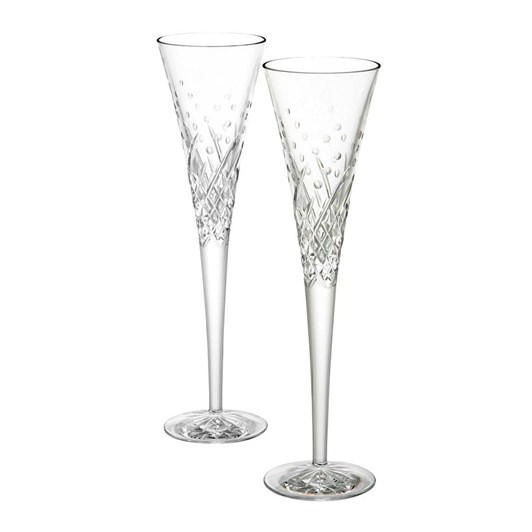 Waterford Celebration Flutes Happy Flute Pair