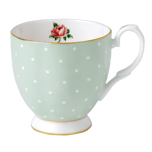 Royal Albert Polka Rose Vintage Mug Small