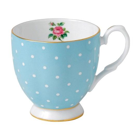 Royal Albert Polka Blue Vintage Mug Small