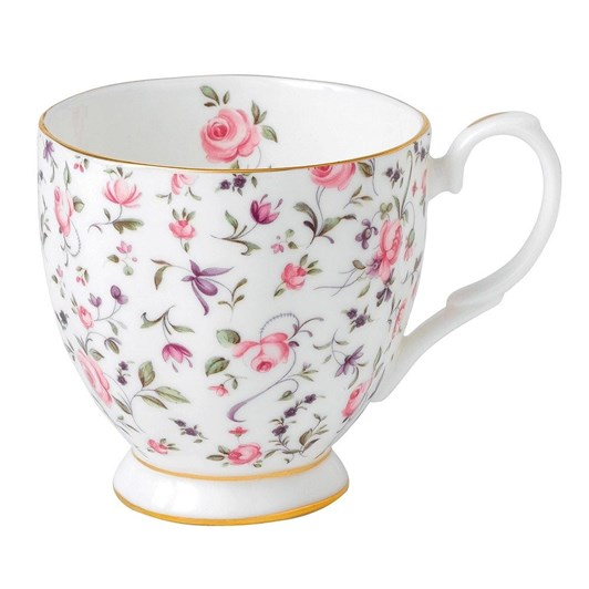 Royal Albert Rose Confetti Vintage Mug Small