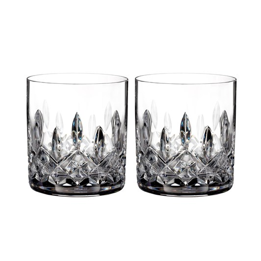 Waterford Crystal Lismore Classic Straight Tumbler Pair 5oz