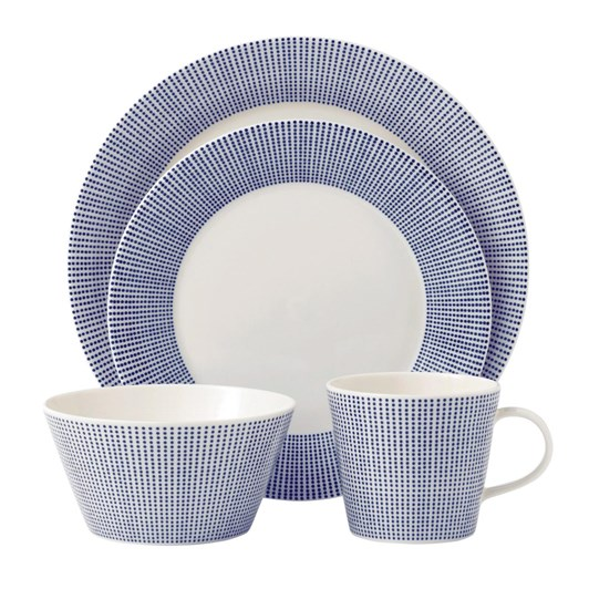 Royal Doulton Tablew Casual^rd Pacific^dots 16 Piece Set 420ml