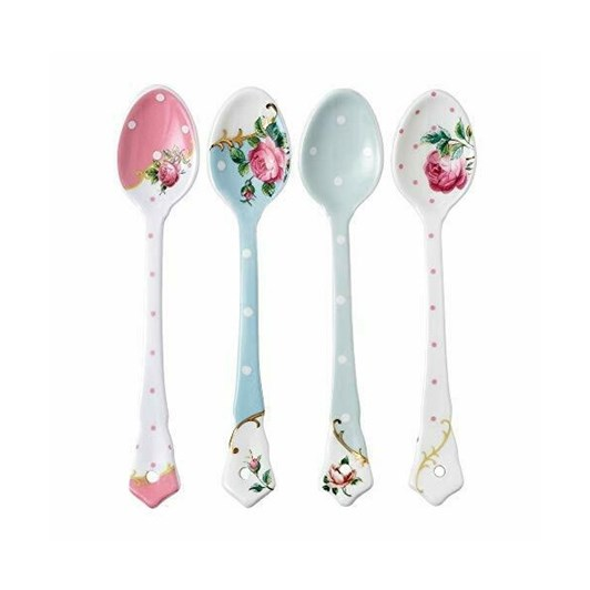 Royal Albert Vintage Mix Teaspoon Set 4 Piece