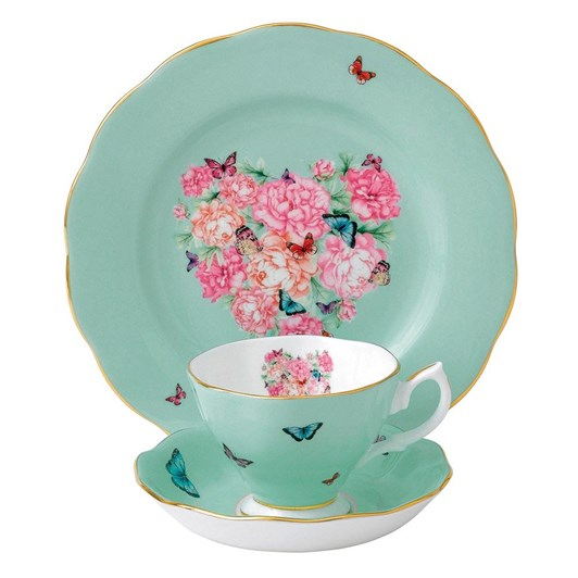 Royal Albert Miranda Kerr Blessings Teacup, Saucer, Plate 20cm