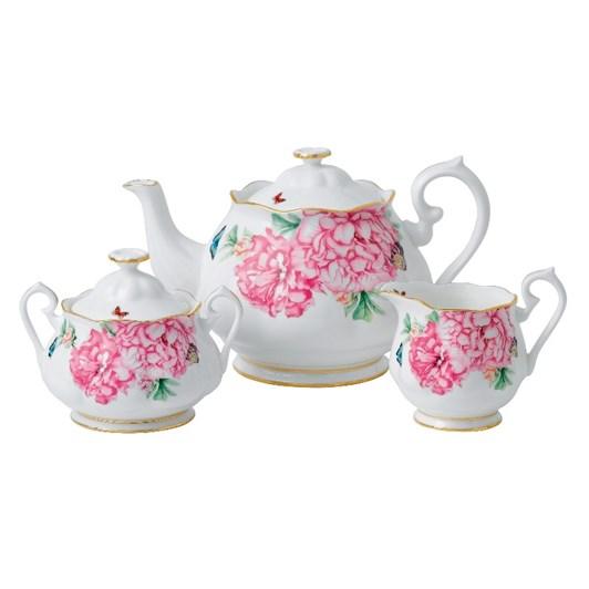 Royal Albert Miranda Kerr Friendship Teapot, Cream, Sugar
