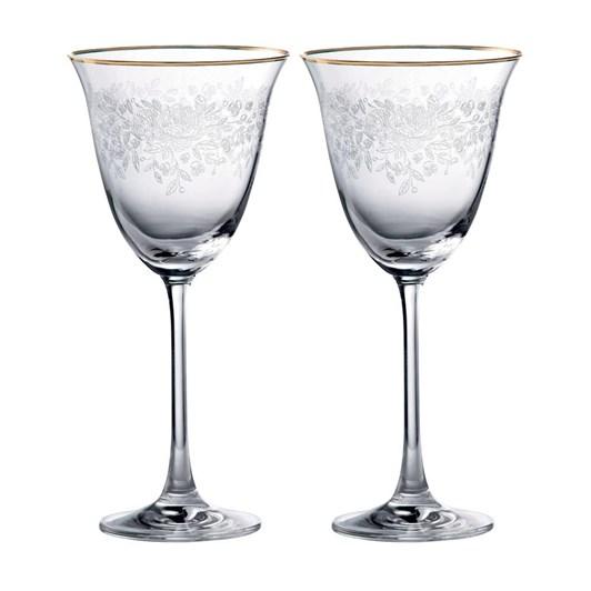 Royal Albert Old Country Roses Wine Glass Pair