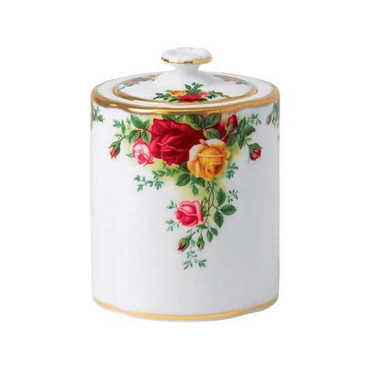 Royal Albert Old Country Rose Tea Party Caddy