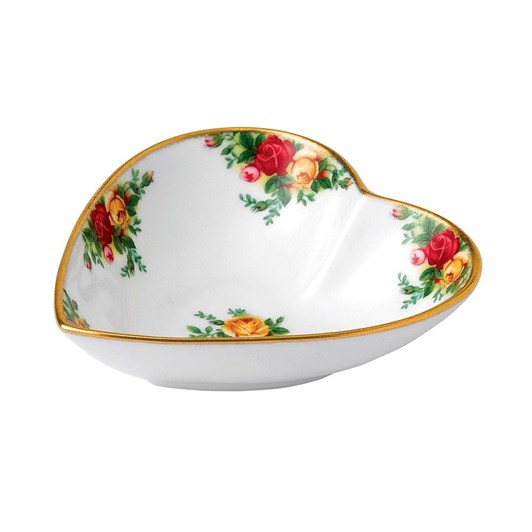 Royal Albert Old Country Roses Gorgeous Gifts Heart Tray