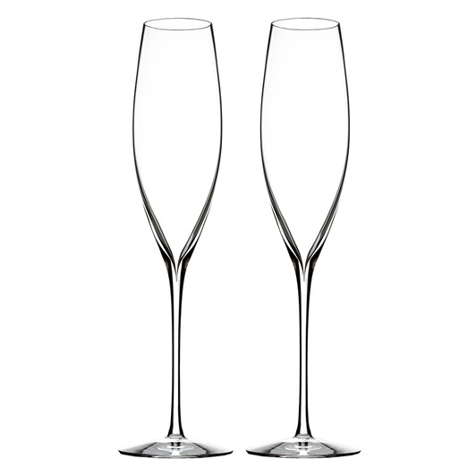 Waterford Elegance Champagne Flute Pair