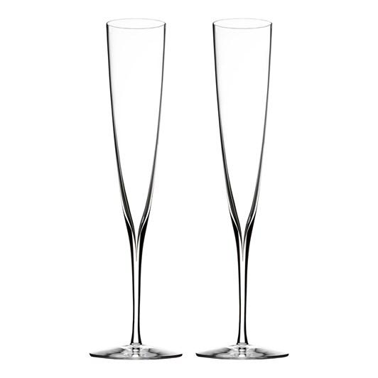 Waterford Elegance Champagne Trumpet Pair