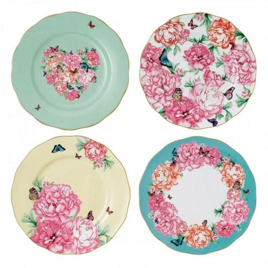 Royal Albert Miranda Kerr Set of 4 Plates 20cm
