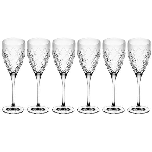 Royal Doulton Crosslake Goblet Set of 6