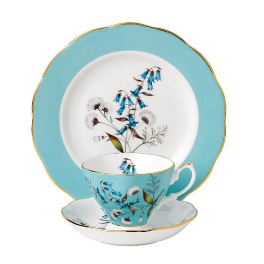 Royal Albert 100 Years Teaware Teacup, Saucer, Plate 1950