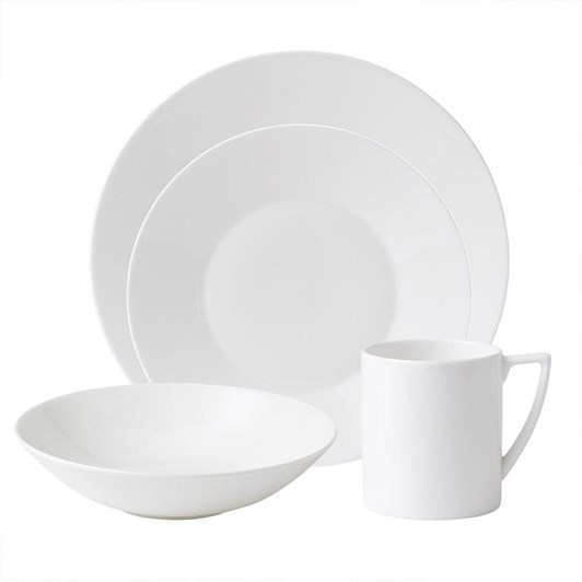 Wedgwood Jasper Conran White 16 Piece Set
