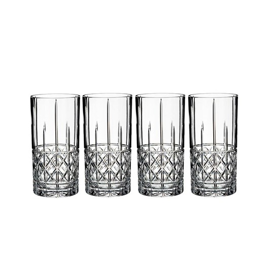 Waterford Marquis by Waterford Brady Hi-ball Set 4