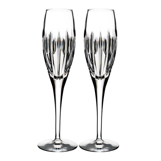 Waterford Crystal Ardan Mara Flute Pair