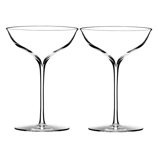 Waterford Elegance Belle Coupe Pair