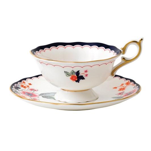 Wedgwood Wonderlust Jasmine Bloom Teacup & Saucer