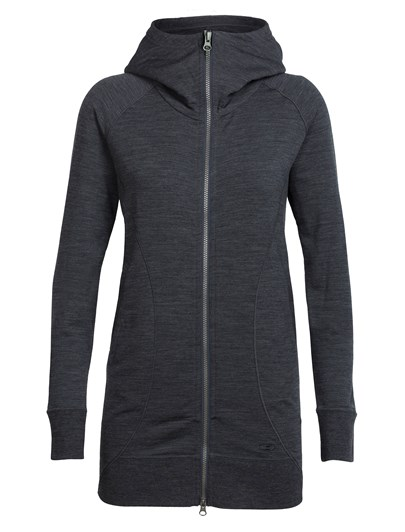 Icebreaker Womens Dia Long Hooded Jacket