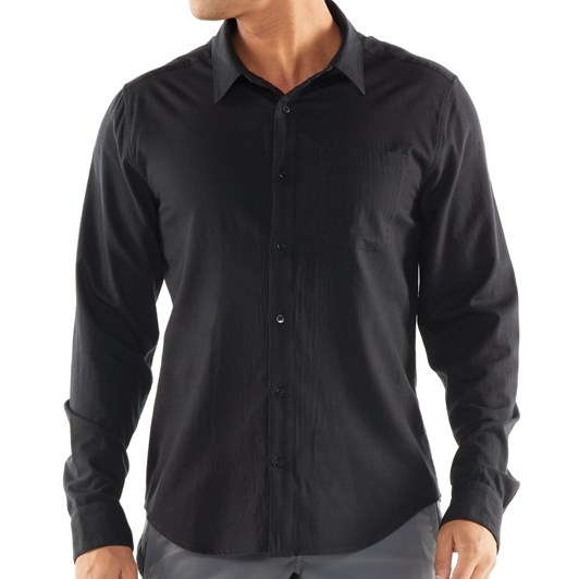 Icebreaker Mens Compass Flannel LS Shirt