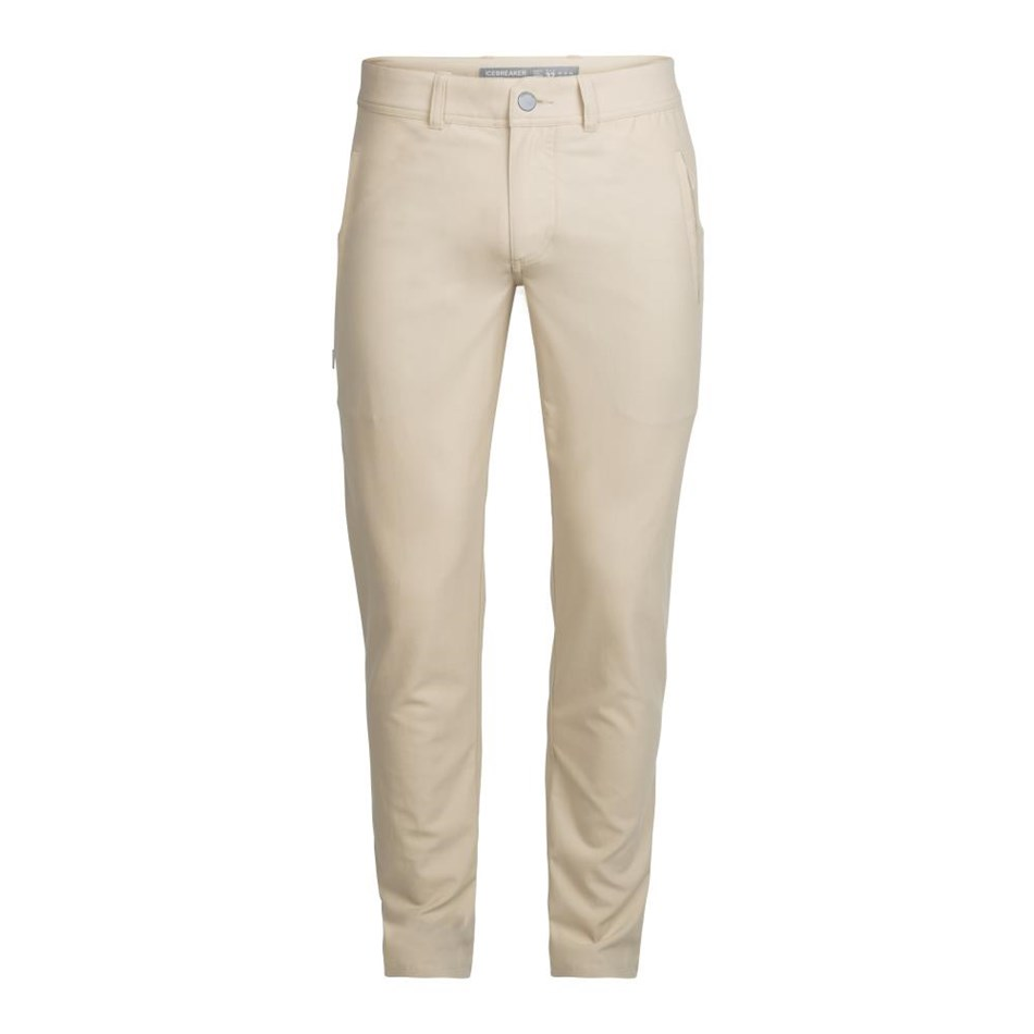Icebreaker Mens Connection Pants - 201-straw