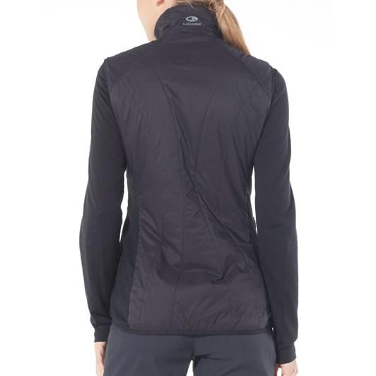 Icebreaker Womens Hyperia Lite Hybrid Vest