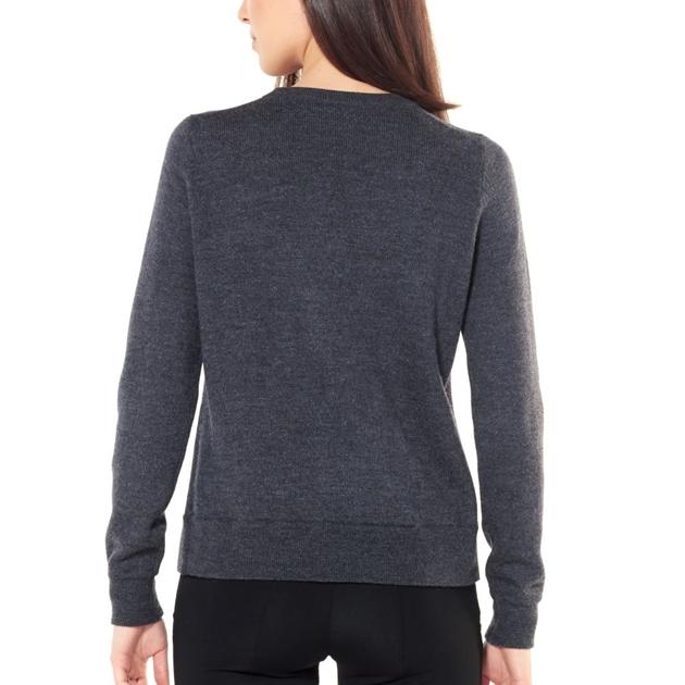 Icebreaker Womens Muster Crewe Sweater -