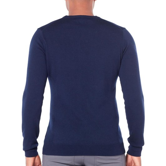 Icebreaker Mens Shearer Crewe Sweater