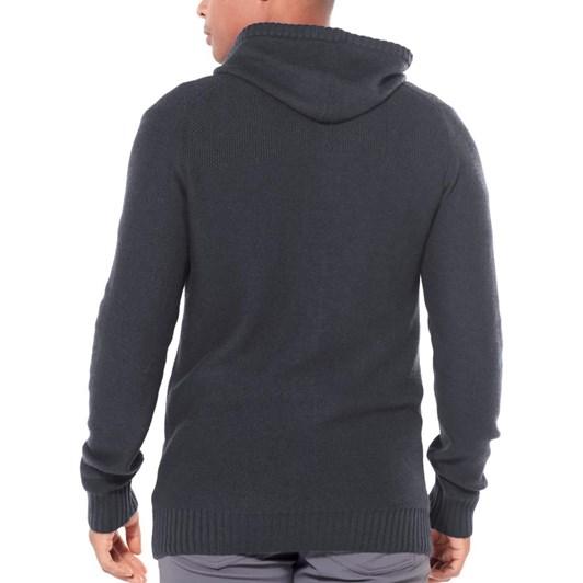 Icebreaker Mens Waypoint LS Zip Hood Sweater