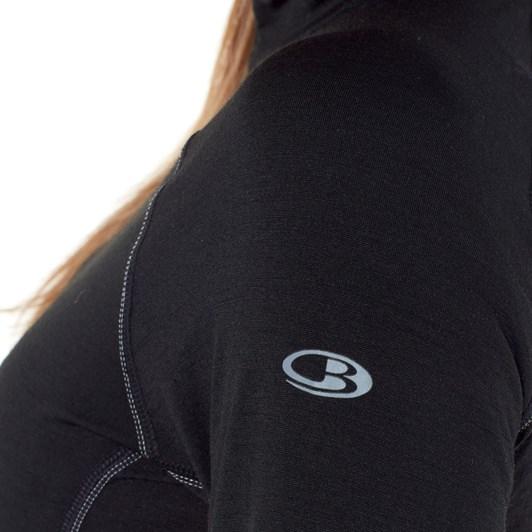 Icebreaker Women's BodyfitZONE™ 150 Zone LS Half Zip