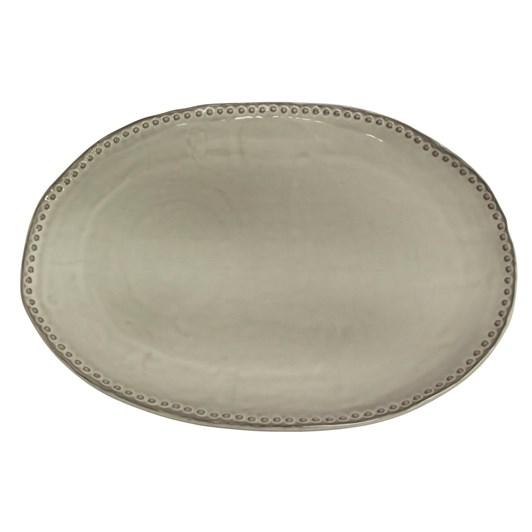 French Country Iris Beaded Platter
