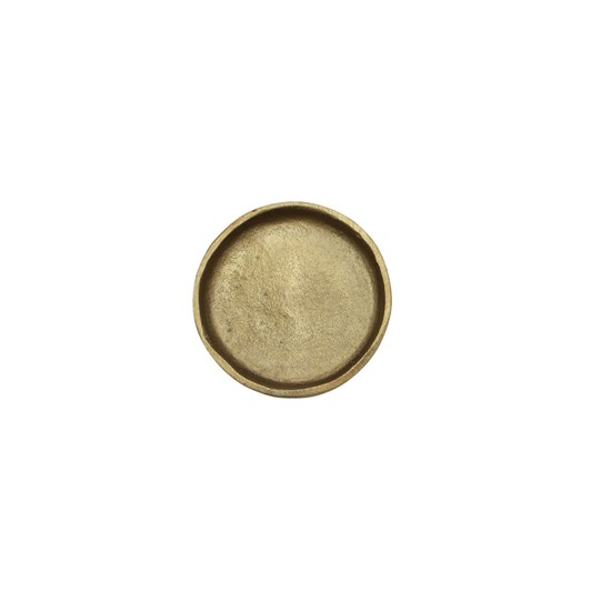 Handforged Brass Plate Small