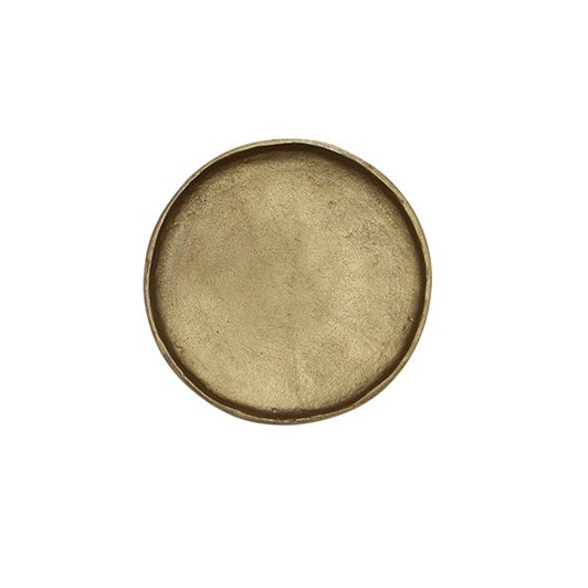 French Country Handforged Brass Plate Medium