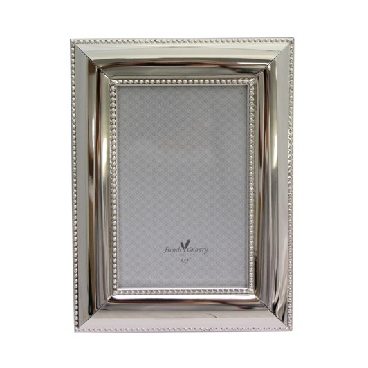 Large Silver Pearl Photo Frame