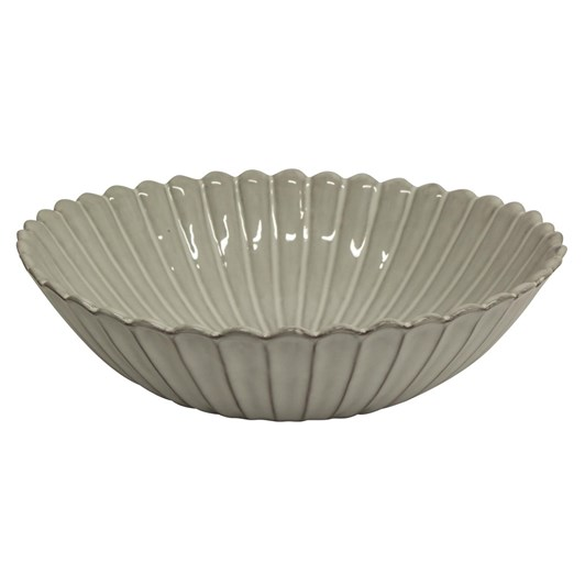 French Country Iris Fluted Salad Bowl
