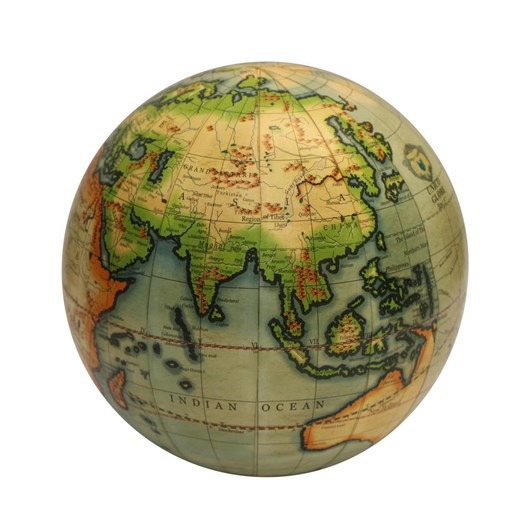 French Country Globe Sea 12.5cm