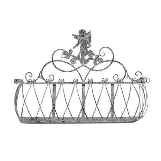 French Country Angel Planter Low Small