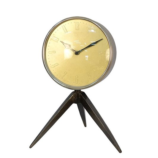 French Country Tripod Clock