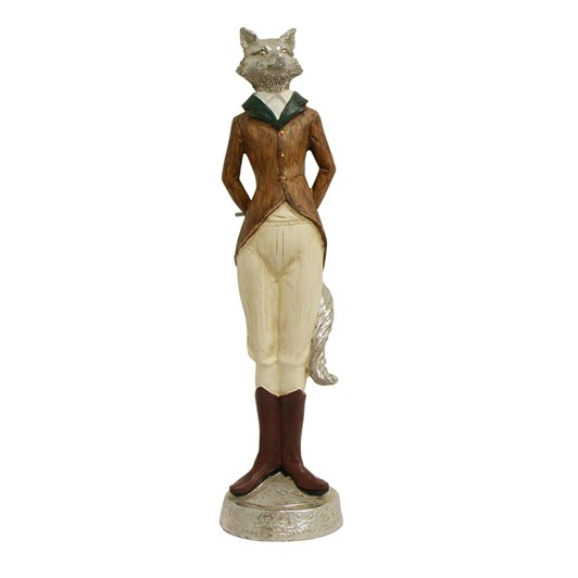 French Country Freddy Fox Flute Décor