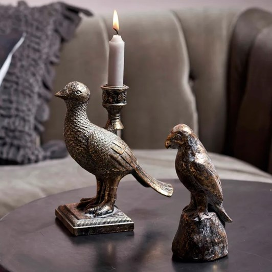 French Country Parrot Décor