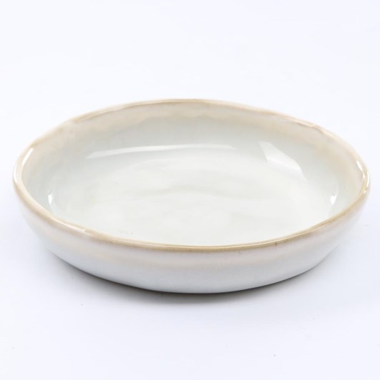 French Country Franco Rustic White  Small Plate